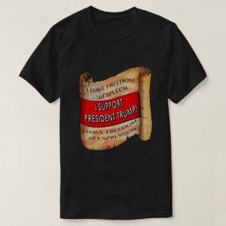 Je soutiens le Président Trump T-Shirt