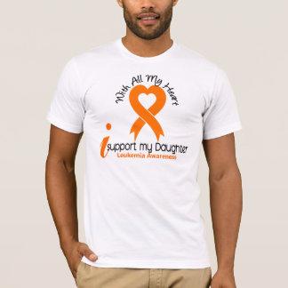 Je soutiens ma leucémie de fille t-shirt