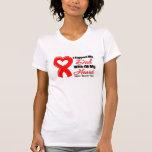 Je soutiens mon papa de tout mon coeur t-shirt