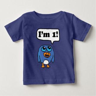 Je suis 1 chemise de pingouin t-shirt pour bébé
