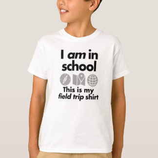 JE SUIS à l'école T-shirt