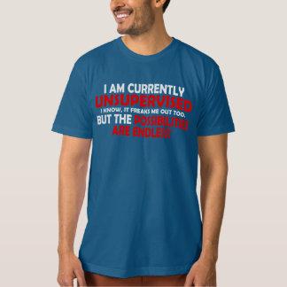 Je suis ACTUELLEMENT NON SURVEILLÉ. LES T-shirt
