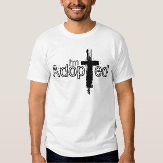 Je suis adopté t-shirts