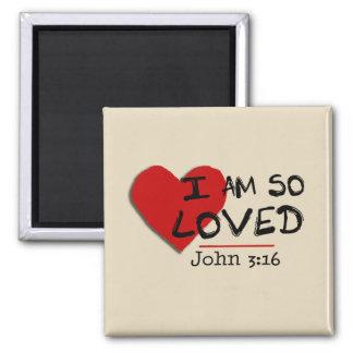 Je suis ainsi aimant aimé de 3h16 de John