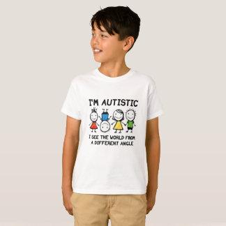 Je suis autiste t-shirt