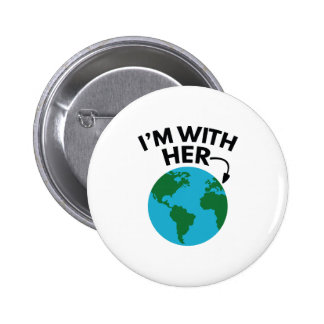 Je suis avec elle badges