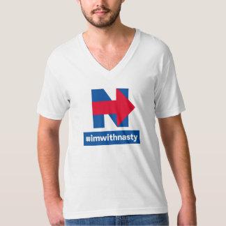 Je suis avec méchant t-shirt