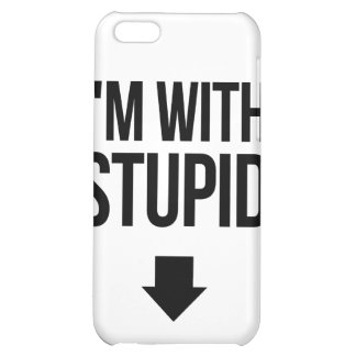 Je suis avec Stoopid stupide Coques iPhone 5C