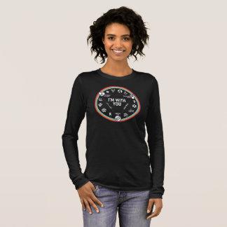Je suis avec vous vitesse d'activiste. Montant à T-shirt À Manches Longues