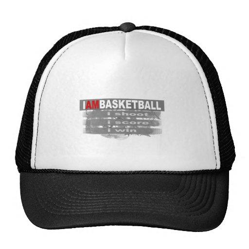 Je suis basket-ball casquette