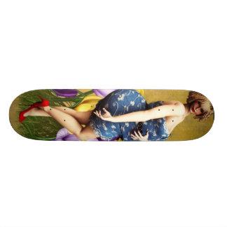 Je suis belle planche à roulettes skateboards customisés