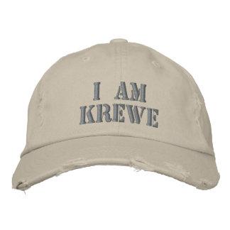 JE SUIS casquette affligé par KREWE Casquette Brodée