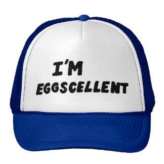 Je suis casquette de camionneur d'Eggscellent