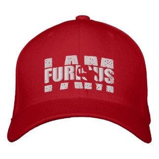 JE SUIS casquette rouge de logo de bout droit