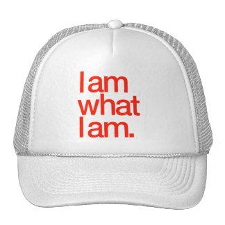 Je suis ce qui suis je casquette