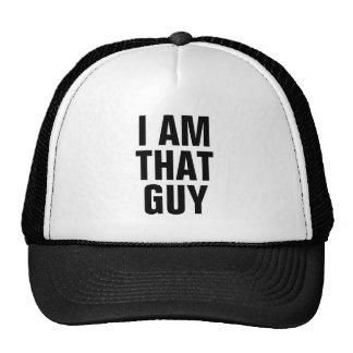 Je suis ce type casquettes de camionneur