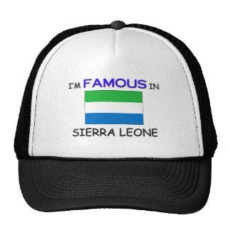 Je suis célèbre dans le SIERRA LEONE Casquette