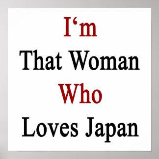 Je suis cette femme qui aime le Japon