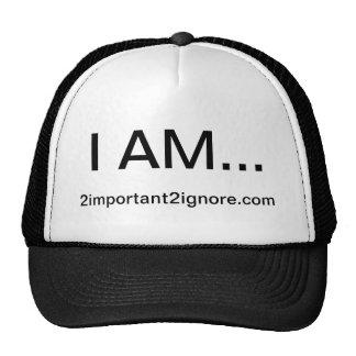 JE SUIS chapeau Casquettes De Camionneur