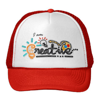 Je suis chapeau créatif casquette de camionneur