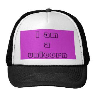 Je suis chapeau d une licorne casquettes