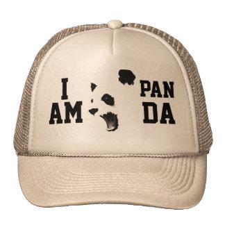 JE SUIS chapeau de camionneur de PANDA Casquettes