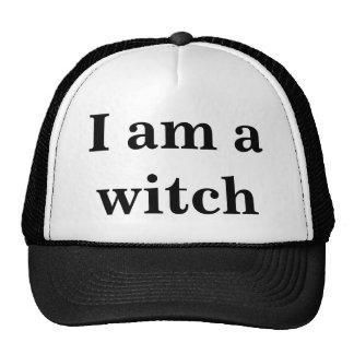 """""""Je suis chapeau de camionneur d'une sorcière"""" Casquette De Camionneur"""