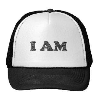 Je suis chapeau positif d'affirmations casquettes