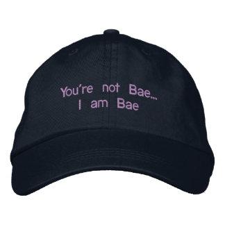 Je suis chapeau réglable de Bae Casquette Brodée