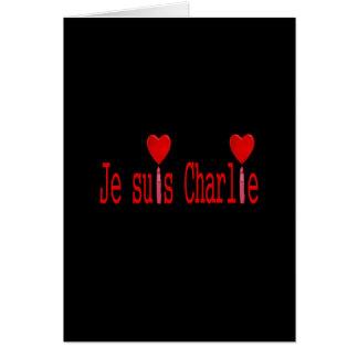 Je suis Charlie Carte De Vœux