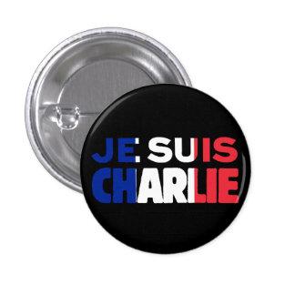 Je Suis Charlie - je suis Charlie tricolore de la Pin's