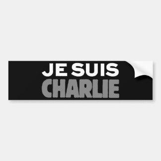 Je Suis Charlie - je suis noir de Charlie Autocollant Pour Voiture