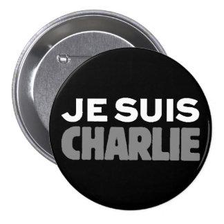 Je Suis Charlie - je suis noir de Charlie Pin's