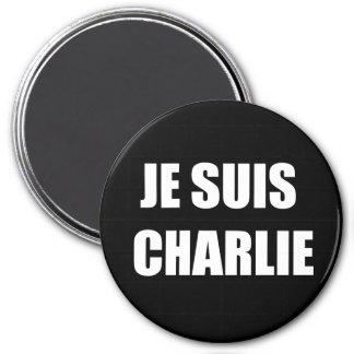 JE SUIS CHARLIE MAGNET ROND 7,50 CM