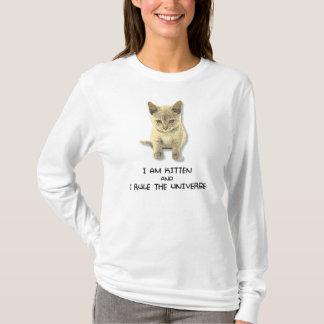 """""""je suis chaton et je T-shirt ordonne univers"""""""