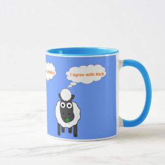Je suis d'accord avec l'élection générale mug