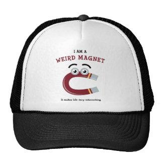 Je suis d'aimant étrange casquette de camionneur