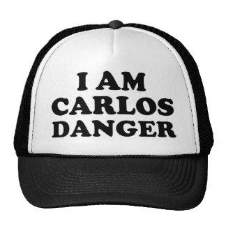 Je suis danger de Carlos Casquettes De Camionneur