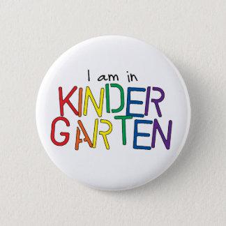 Je suis dans le jardin d'enfants badge