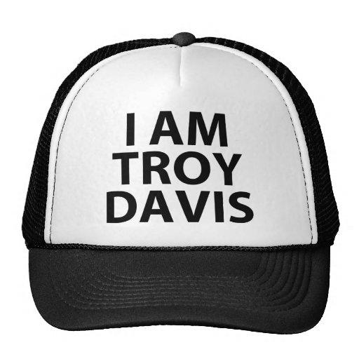 Je suis Davis de troy Casquettes
