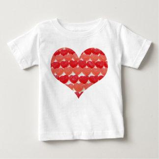 Je suis de petits coeurs d'une sucrerie de bonbon t-shirt pour bébé