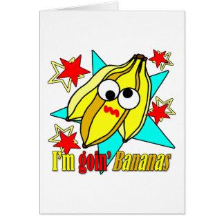 Je suis des bananes de Goin Carte De Vœux