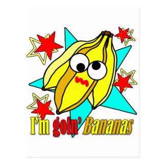Je suis des bananes de Goin Cartes Postales
