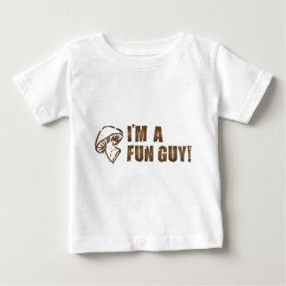 Je suis des champignon de TYPE d'AMUSEMENT T-shirt Pour Bébé