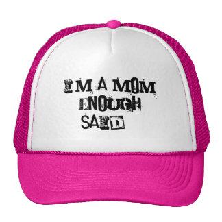 Je suis des produits d'une maman casquette trucker