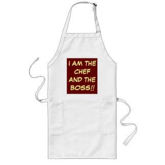 """""""Je suis des tabliers de la cuisine de chef et du"""
