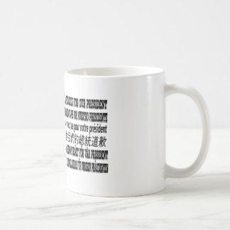 Je suis désolé au sujet de notre Président T-Shirt Mug