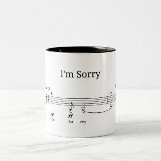 Je suis désolé - ma tasse préférée d'hommage de