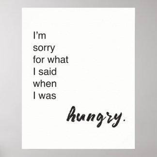 """""""Je suis désolé pour ce que j'ai dit quand j'avais Poster"""