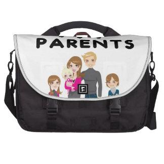 Je suis encore vivant avec mes parents sac pour ordinateur portable